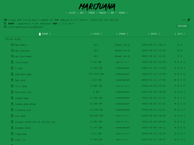 Marijuana Shell GitHub Repo