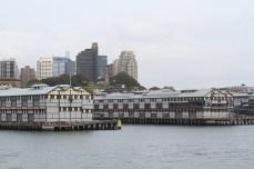 Les vieux docks transformés en appartements