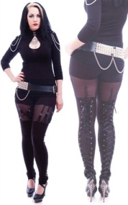 NEW: Venda Strap Leggins von Necessary Evil