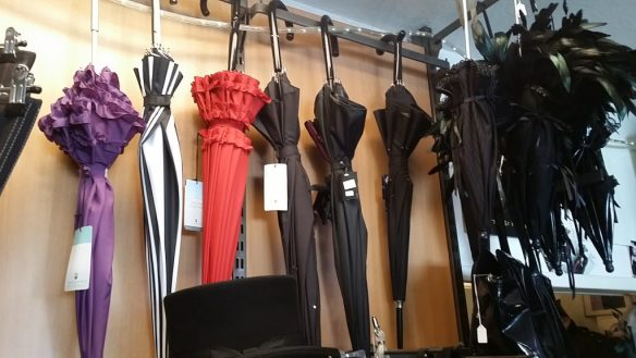 Schirme bei sündige mode