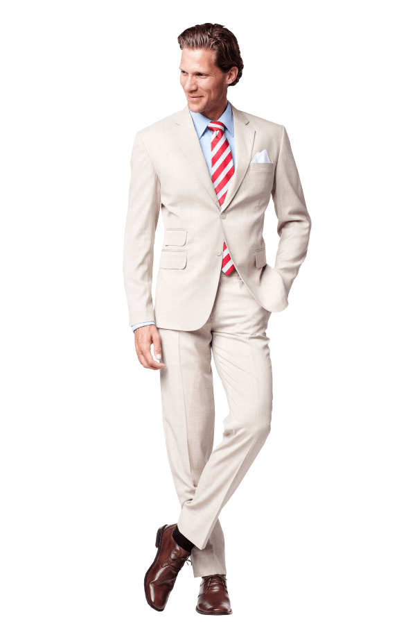 White Wedding Suits for Groom