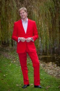 Ferrari Red Elton Suit