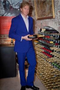 Elton Suit in Persian Blue