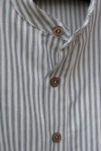 Aubrey Collarless Shirt