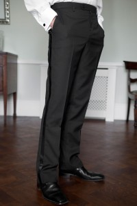 Craig Single Breasted Dinner Suit Trousers