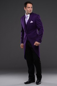 Copperfield Tailcoat in Purple