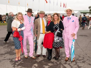 Stunning Pink Gatsby Suits Photo sent by Mike Dabell