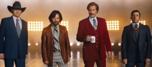 Taken From Anchorman 2 Official Trailer
