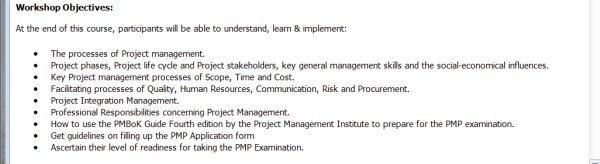 PMP Training Case - 4