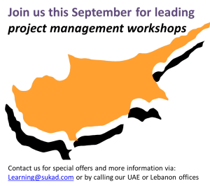 Project Management Courses in Cyprus this September