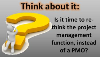 Rethinking the Project Management Function