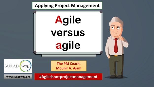 How do we compare agile with Agile