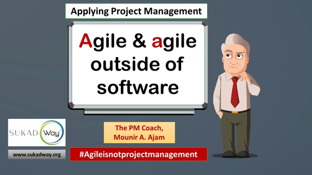 Can we use agile/Agile outside of software development?