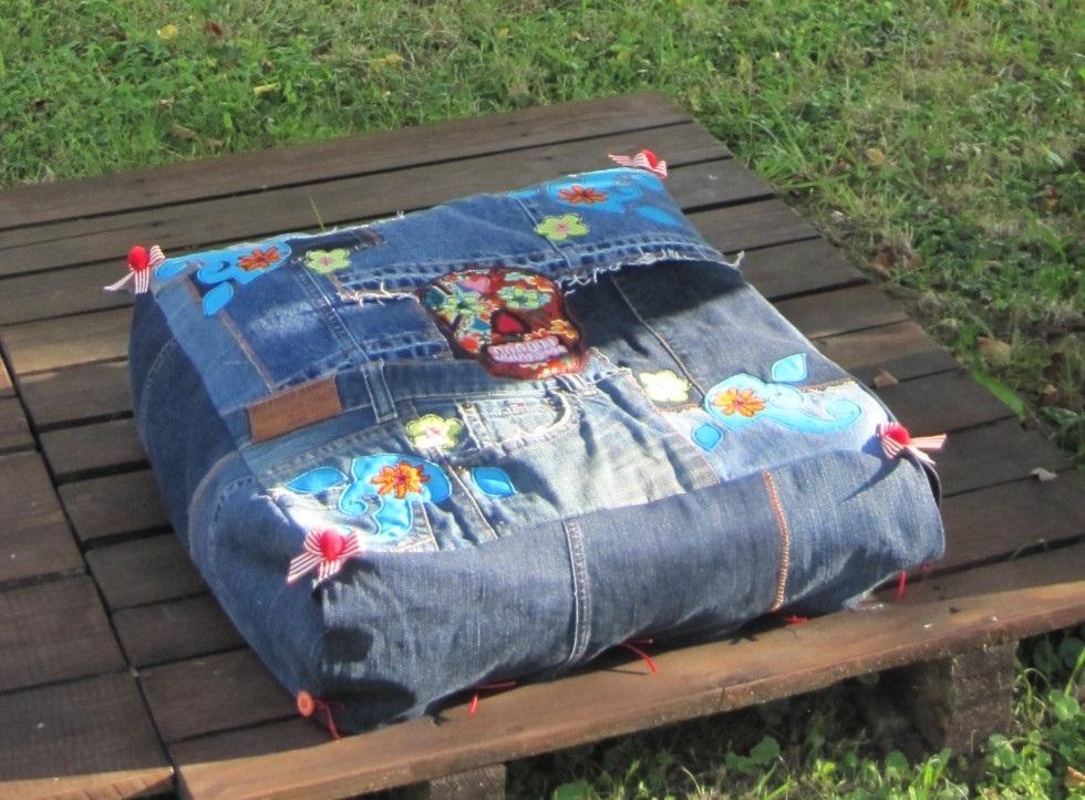 alte jeans her damit sulky blog. Black Bedroom Furniture Sets. Home Design Ideas