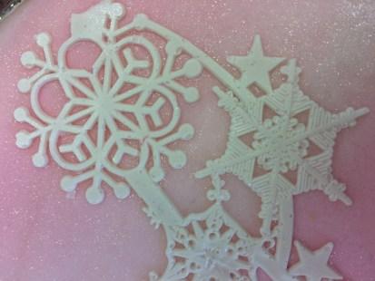 24 Weihnachtstorte Detail