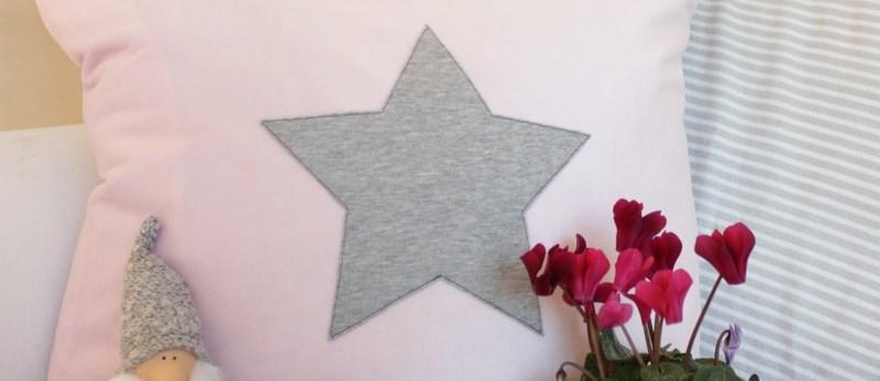 Kissen mit Stern