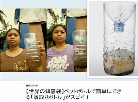 蚊とりボトル