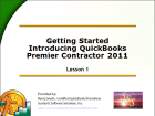 QuickBooks for Contractors - Getting Started