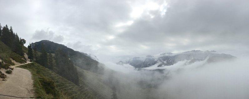 Blick ins Kaisertal (von Ritzaualm)