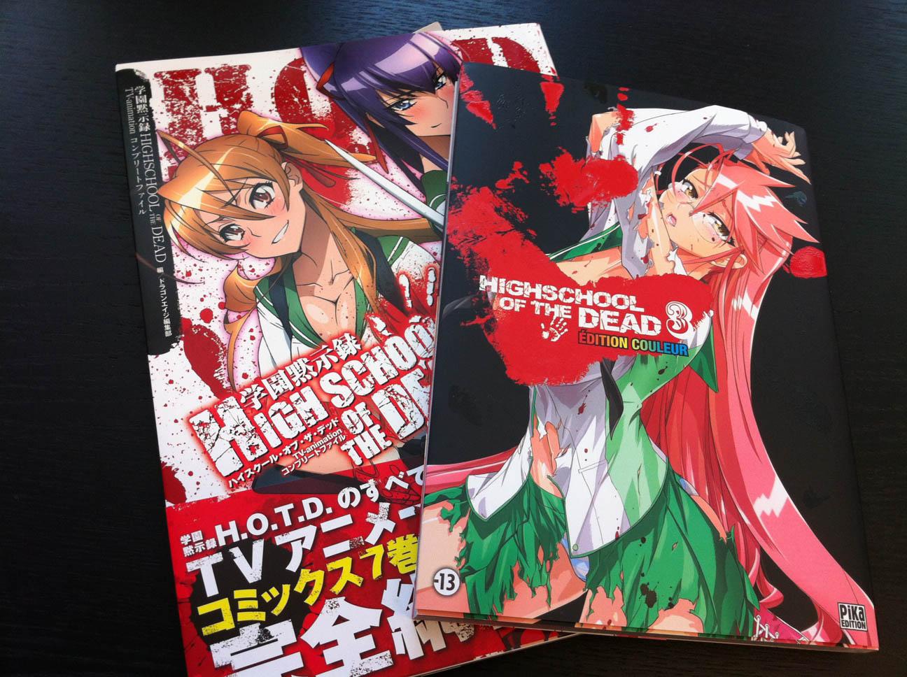 Genre Anime Highschool Of The Dead Guide High School De Sundvold