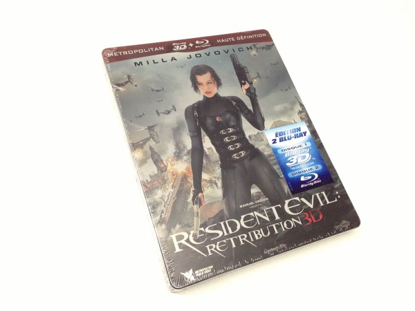 Resident Evil Retribution 3d steelbook (1)