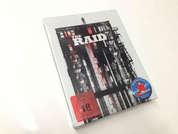 the raid steelbook  (2)