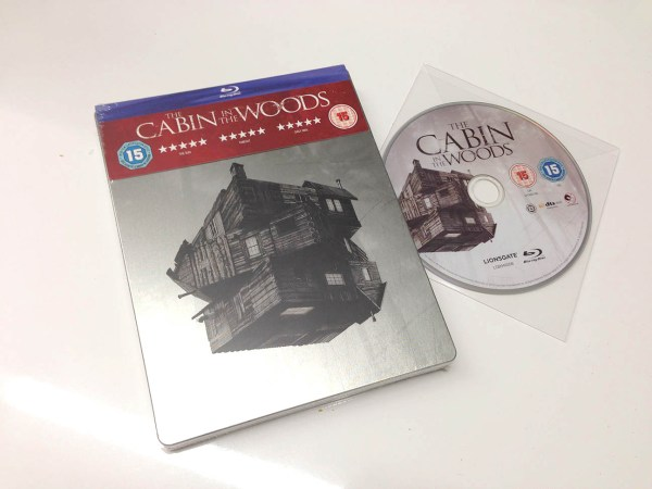 cabin in the woods steelbook