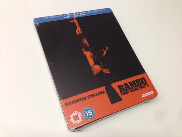 Rambo - First blood part 2 steelbook (1)