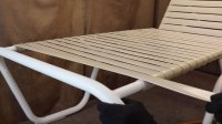 Outdoor furniture repair: How to fix a vinyl strap on a ...