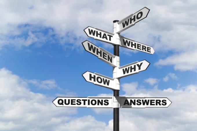 Antwoord op alle vragen