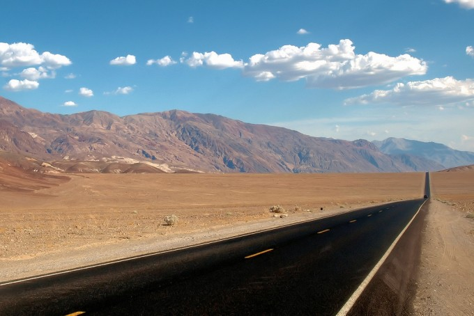 Road trip Californische Death Valley USA