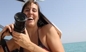 Nathalie Willems selfie Toscane