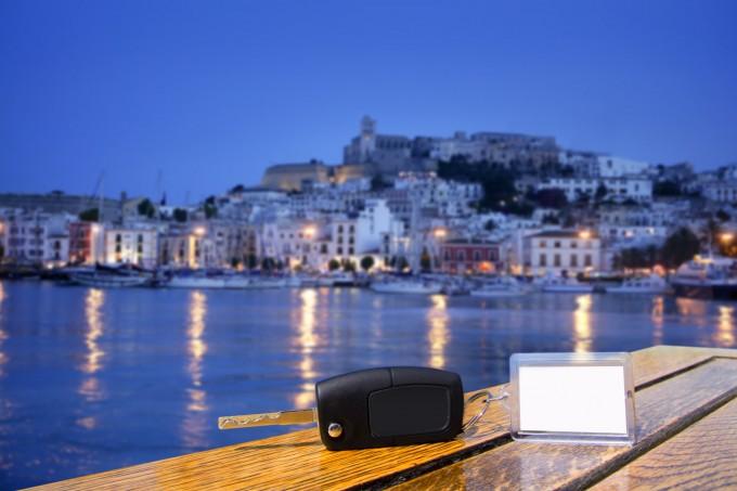 keys at Ibiza huurauto