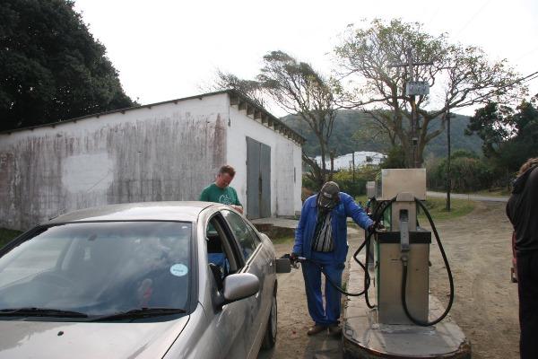 Kees Bikker Tanken Zuid-Afrika