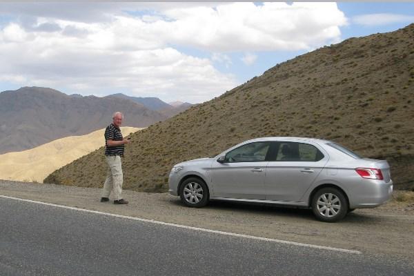 Rondreis Marokko chique auto op Tichka pas