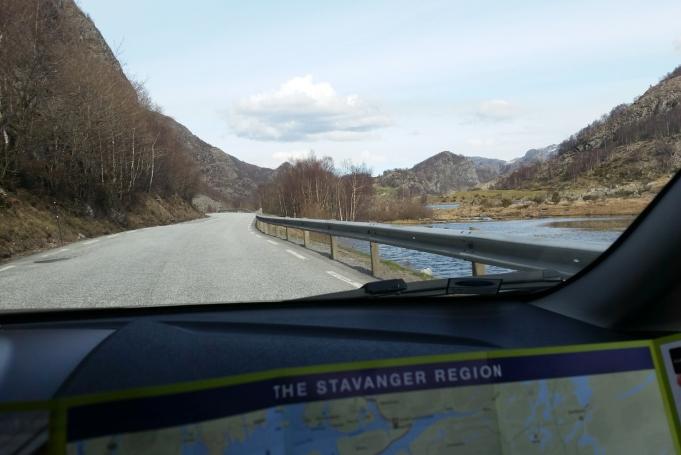 noorwegen map of joy weg