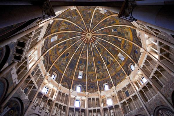 Baptisterium Parma Noord-Italie
