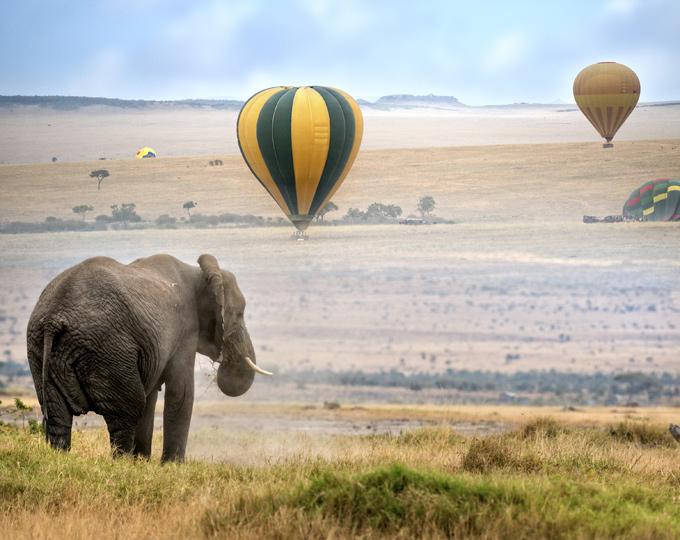 mijn zuid afrika planner luchtballon safari