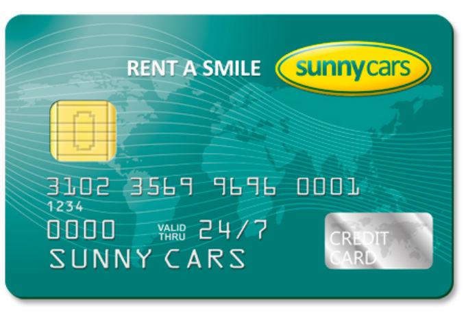 Sunny Cars autohuren zonder creditcard