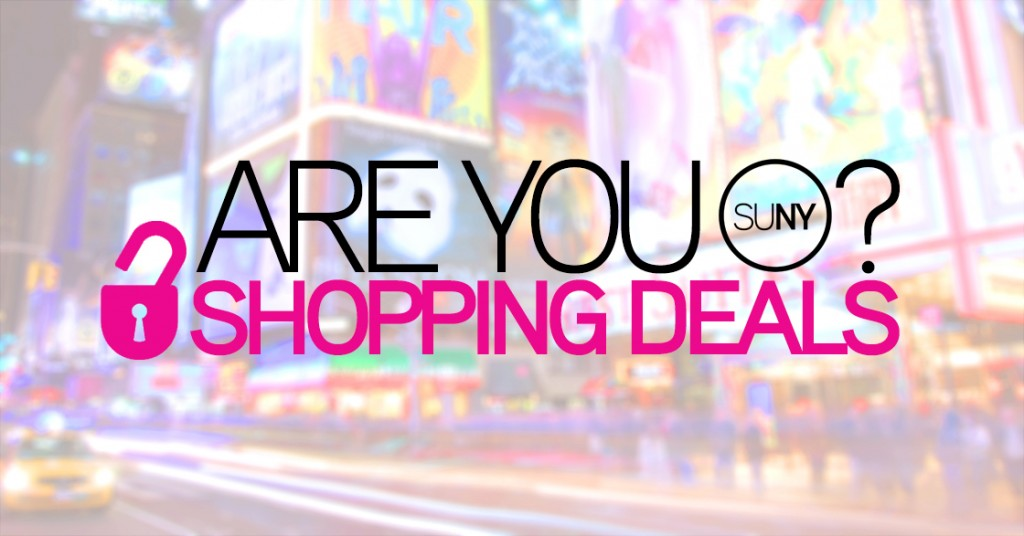 SUNY Shopping Discounts