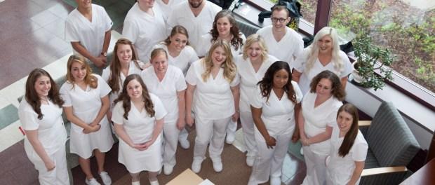 SUNY Ulster Nursing Student Graduates