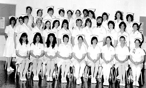 SUNY Ulster Nursing Students in 1982