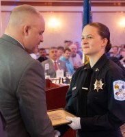 Police Academy graduate receives diploma