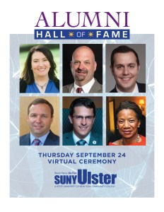 SUNY Ulster to Induct Six New Members into Alumni Hall of Fame