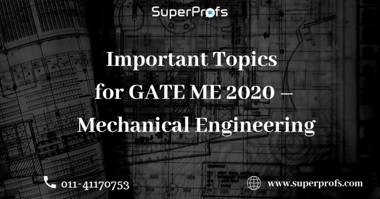 GATE Important Topics for ME