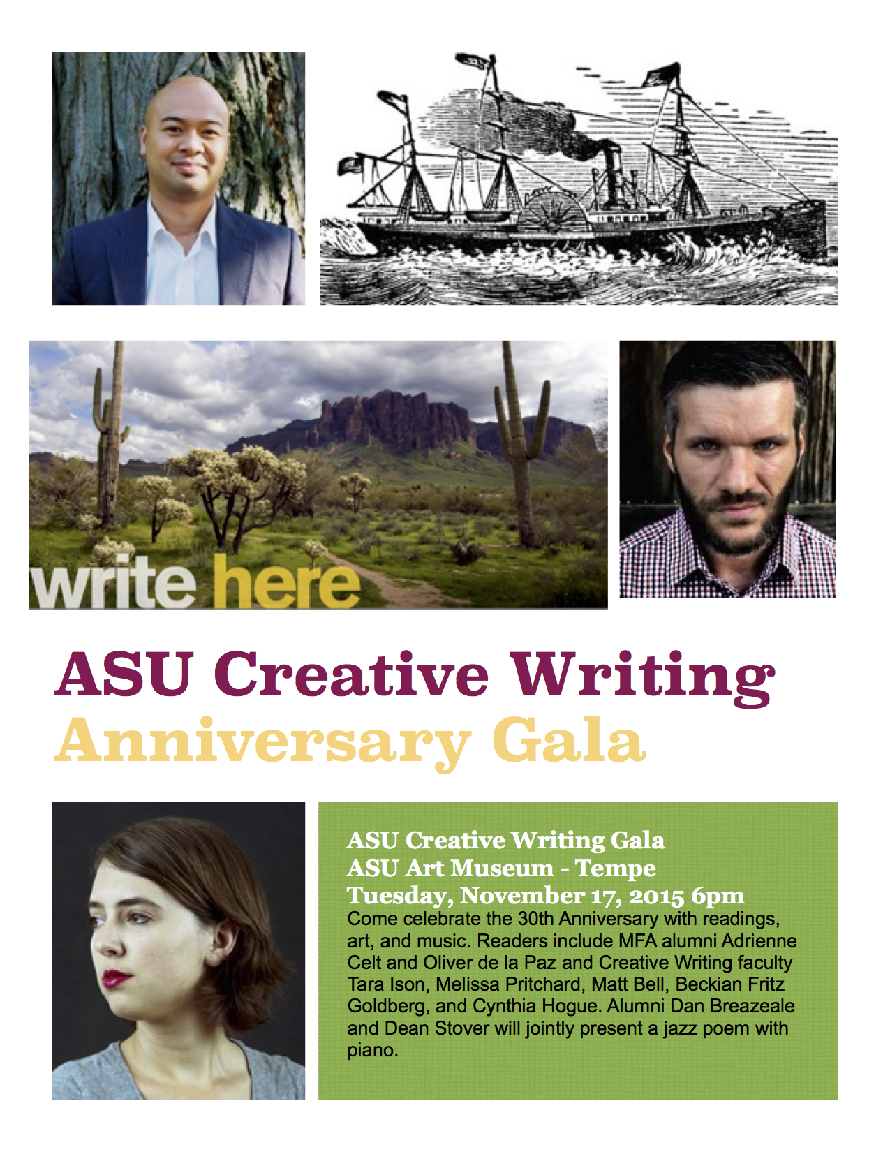 Asu creative writing