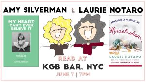 Amy Silverman and Laurie Notaro KGB Bar