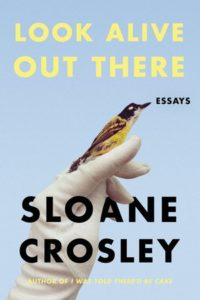 Sloane Crosley's Look Alive Out There Cover