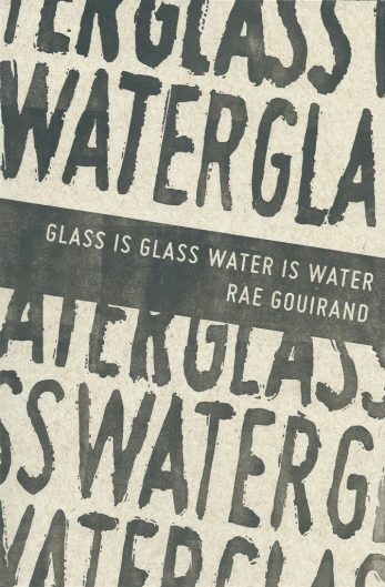 Glass is Glass Water is Water cover