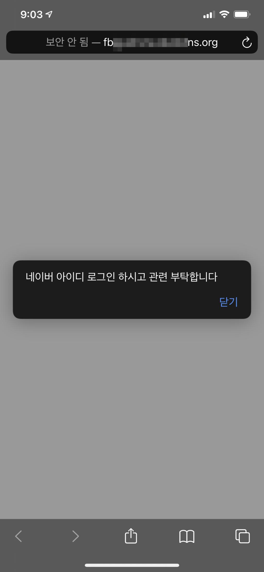 iOS 접근시